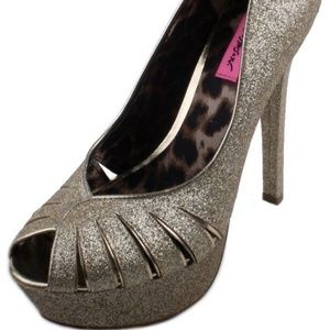 Betsey Johnson Breann-G Womens Heels Size 8.5